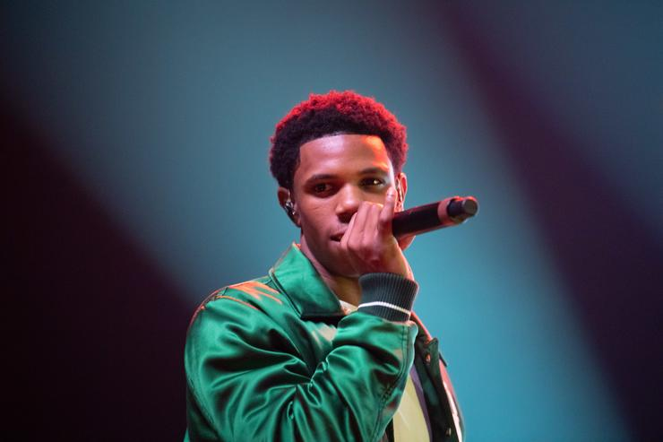 A Boogie Wit Da Hoodie performs at the 2018 Complex Con at Long Beach Convention Center on November 4, 2018 in Long Beach, California