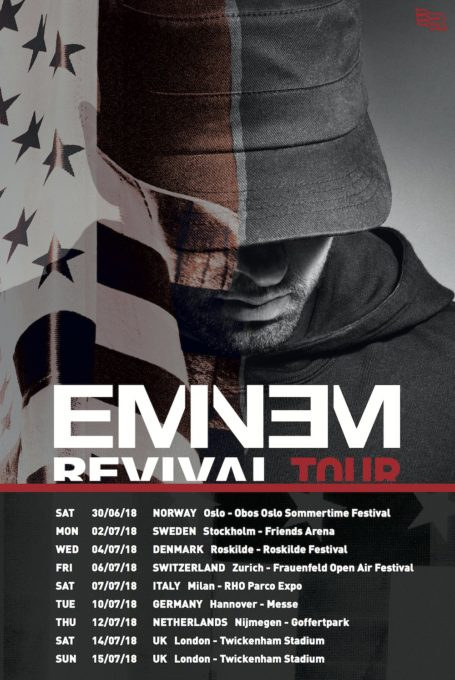 "Eminem Announces European ""Revival"" Tour"