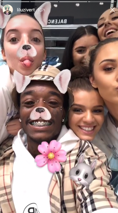 Lil Uzi Vert Hanging Out With White Girls In Australia