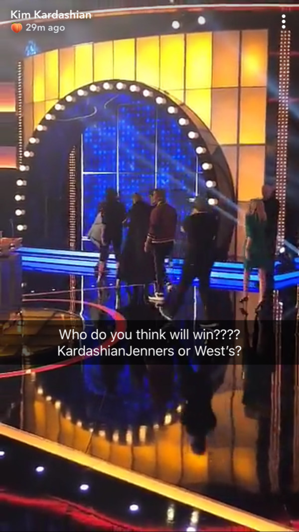 """Kanye West & The Kardashians To Face Off On """"Family Feud"""""""