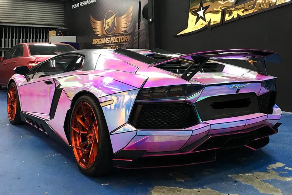 Someone Customized Their Lamborghini Aventador With