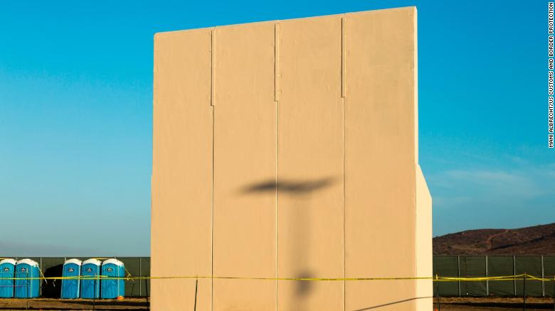 Donald Trump's Mexico Border Wall Prototypes Are In Testing Phase