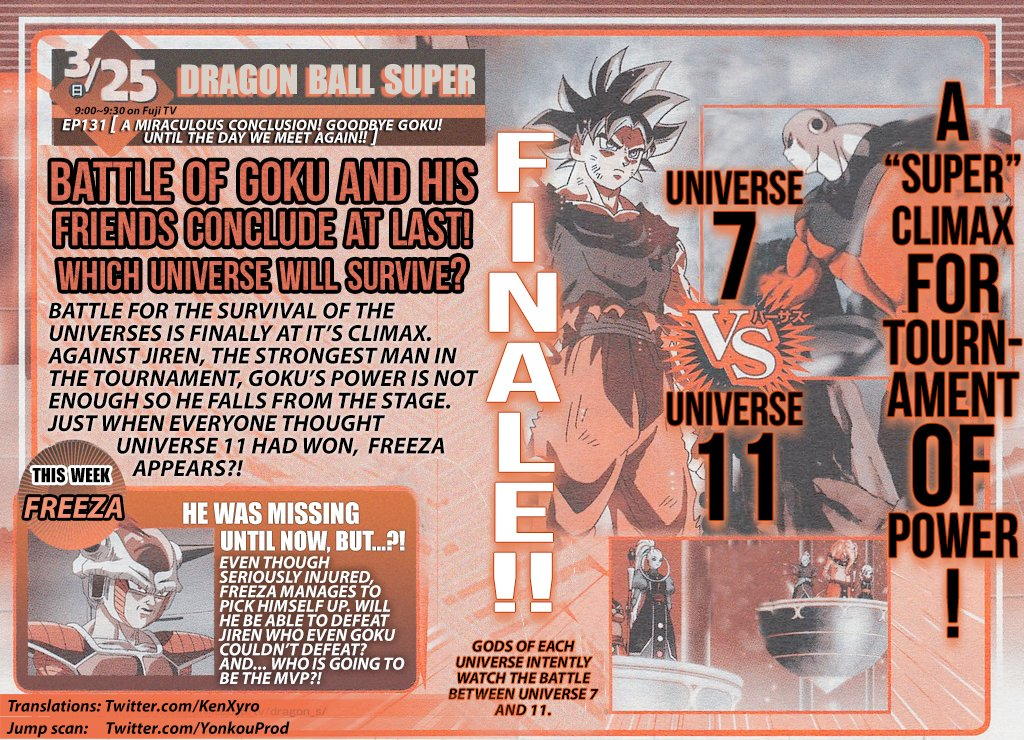 """Dragon Ball Super"" Series Finale Synopsis Revealed"