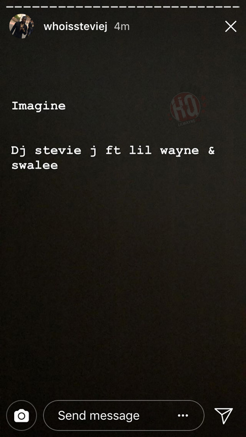 "Lil Wayne & Swae Lee Have New Collab On The Way Titled ""Imagine"""