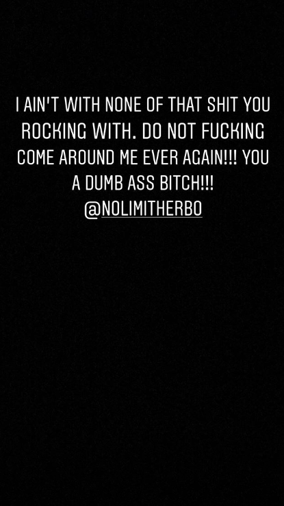 """G Herbo's Girlfriend Viciously Calls Him Out: """"You A Dumb Ass B*tch"""""""