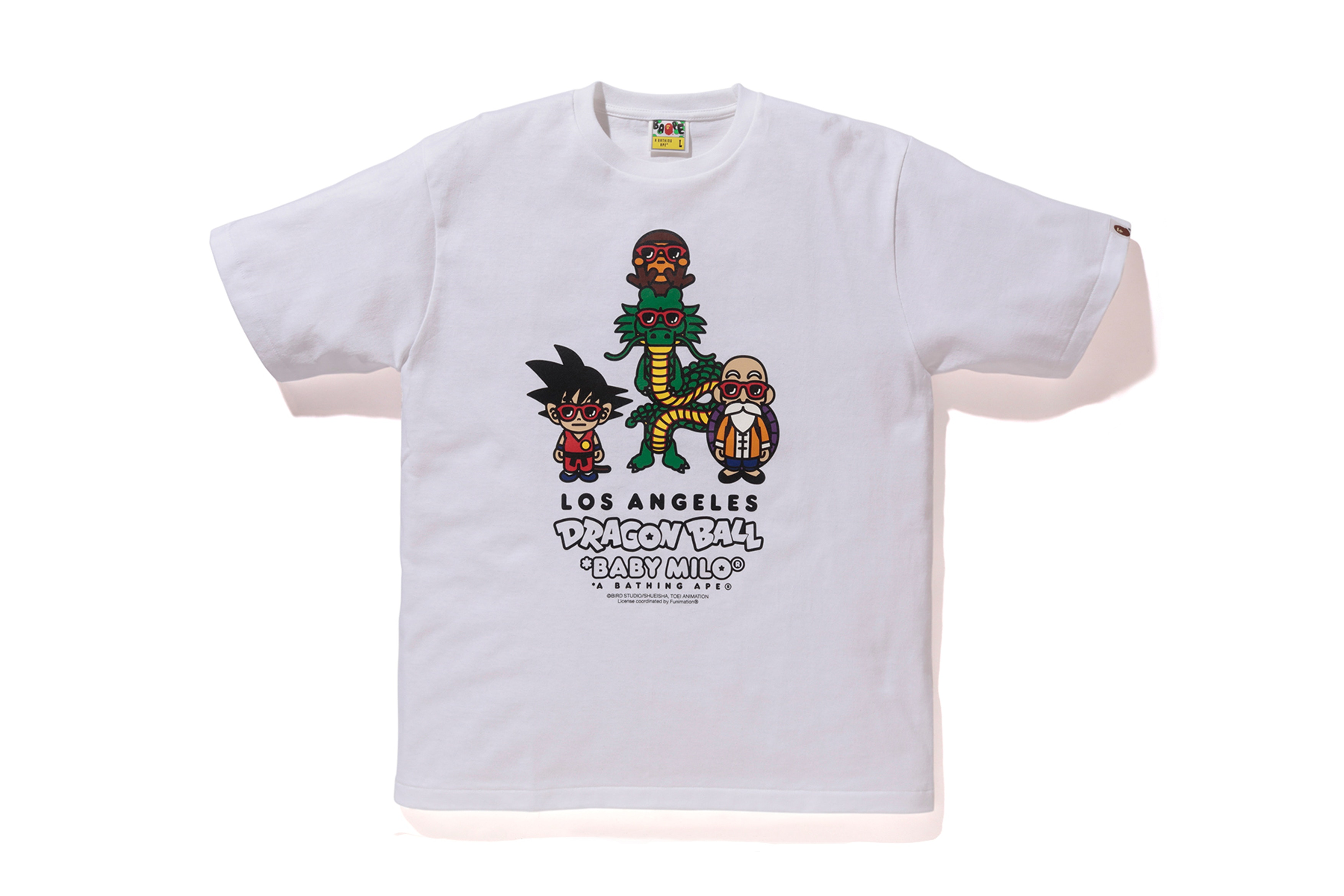 8458e25f Dragon Ball X BAPE Reveal Exclusive Collection Of T-Shirts For Los ...