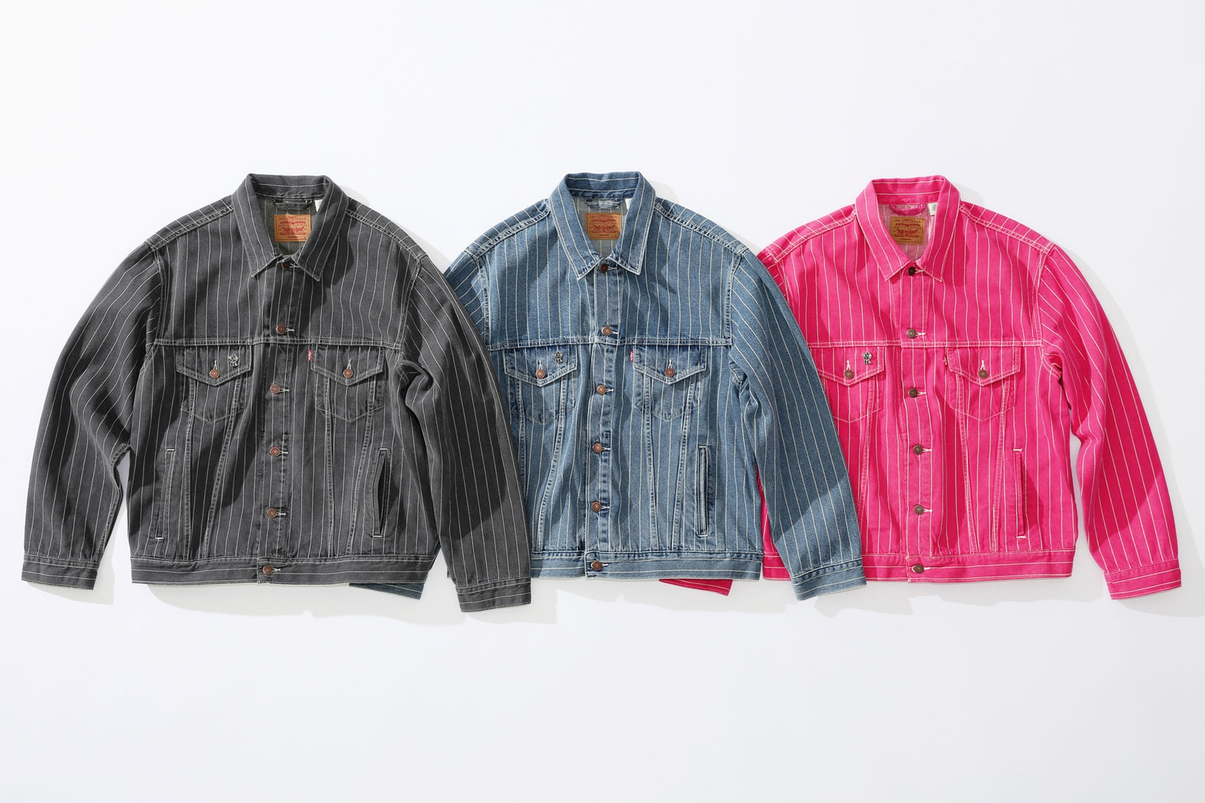 Supreme & Levi Preview Summer Collection Of Denim Necessities