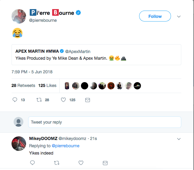 """Pi'erre Bourne Alludes To Ghost-Producing Kanye West's """"Yikes"""""""