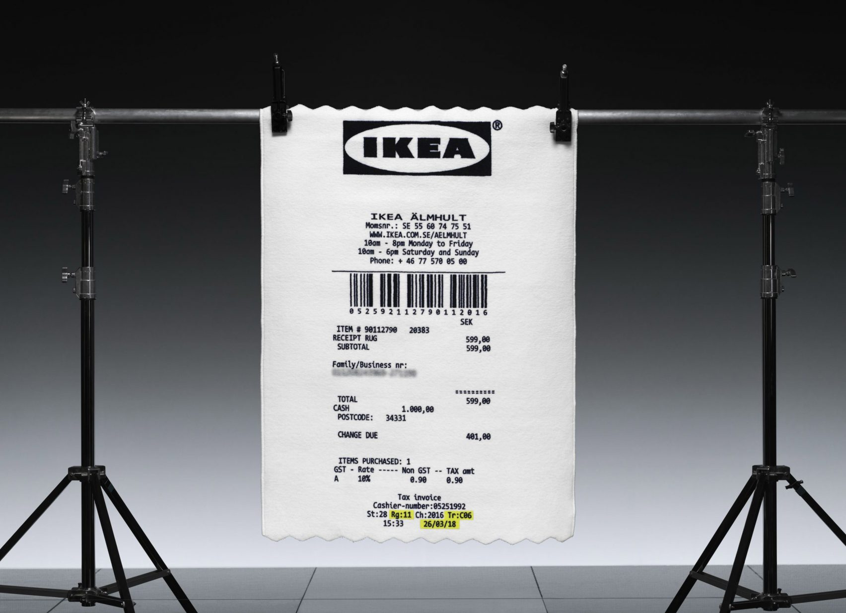"Virgil Abloh & IKEA's ""MARKERAD"" Collection Debuts Official ry"