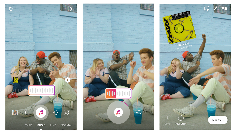 Instagram now lets users soundtrack stories with thousands of licensed tracks