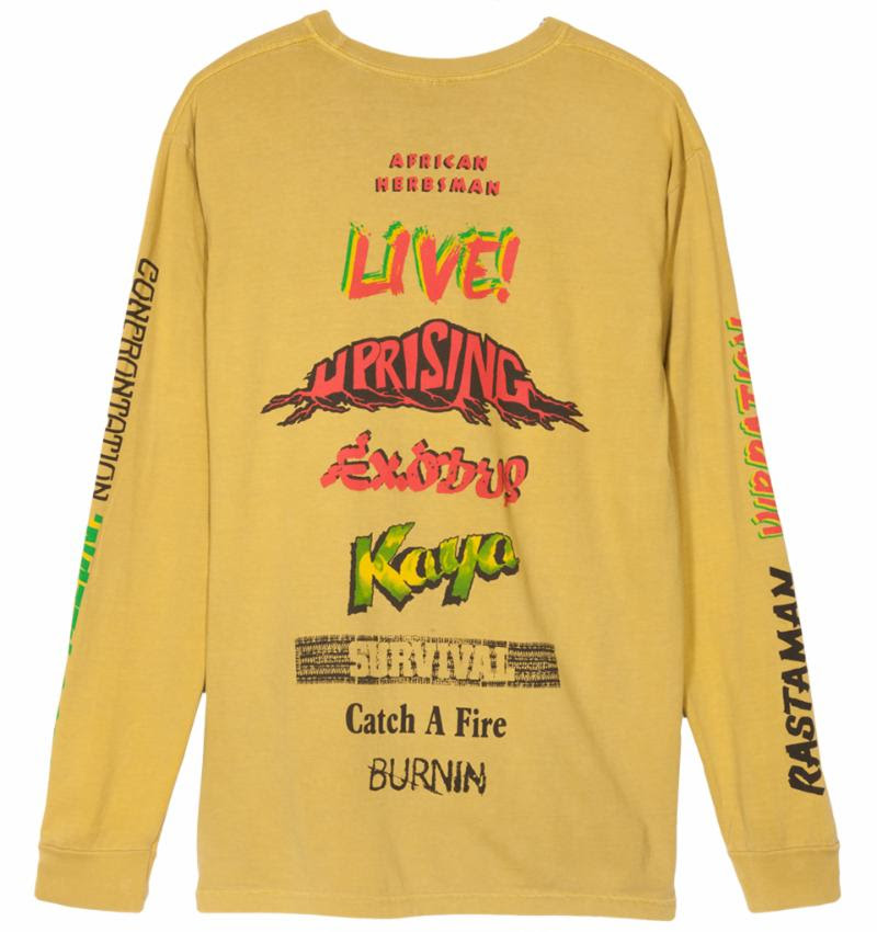 Stüssy Celebrates Bob Marley's Most Iconic Albums In New Summer Collection