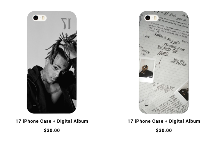 """Check Out XXXTentacion's New """"17"""" One-Year Anniversary Merch Collection"""