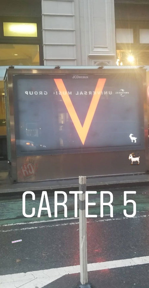"Lil Wayne's ""Carter V"" Promo Billboards Start Popping Up In NYC"