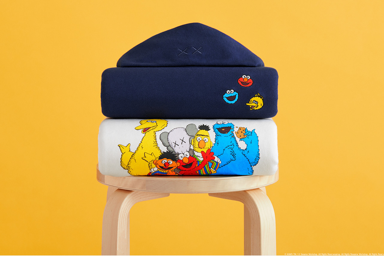 Uniqlo Ut Kaws Link Up Once Again For Sesame Street Collection