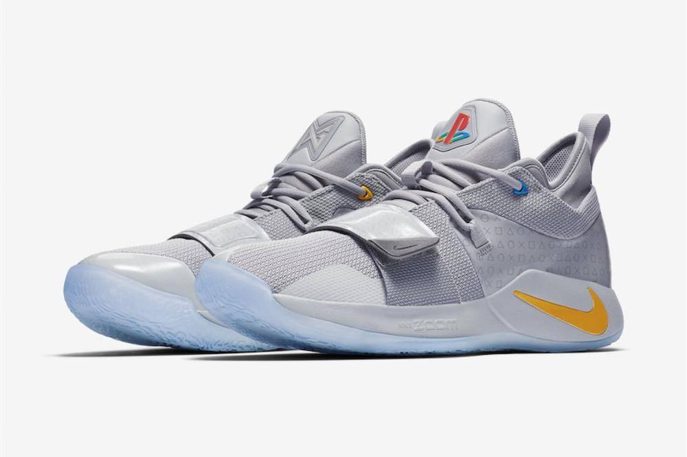 best website f9f3c ccaa6 Playstation x Nike PG 2.5 Release Details Announced