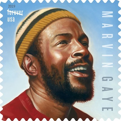Marvin Gaye & Gregory Hines Commemorated With 2019 Forever Stamps