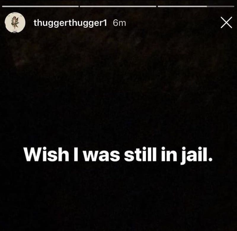 """Young Thug Dealing With Depression? """"Wish I Was Still In Jail"""""""