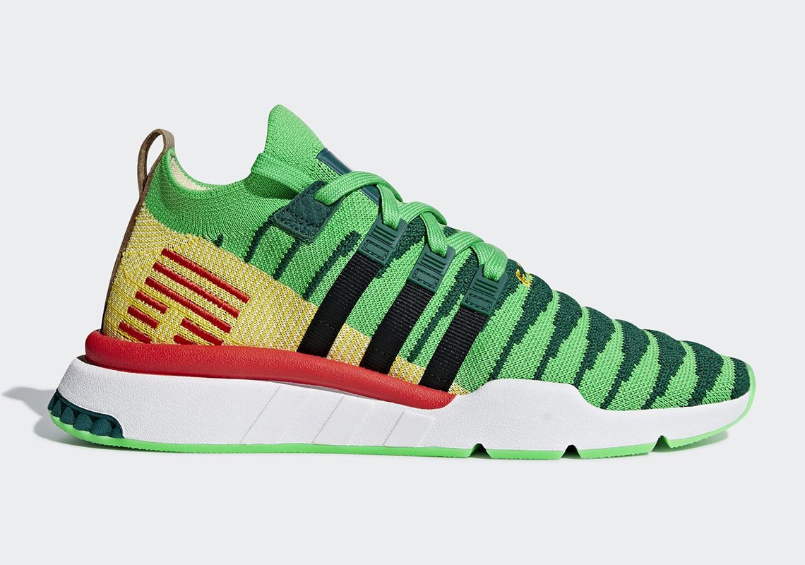 "a83d54afe67ae9 Dragon Ball Z x Adidas EQT Support ""Shenron"" Official Images"