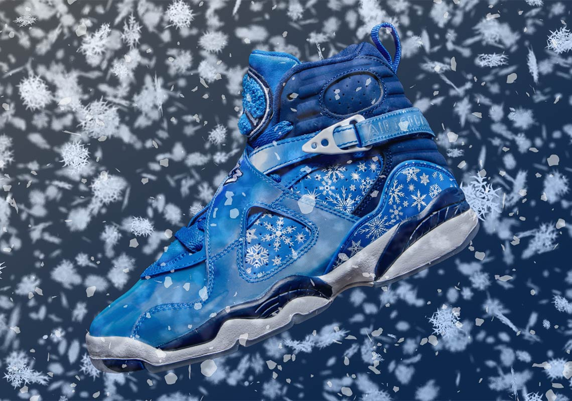 """new products 3d273 71fab Air Jordan 8 """"Snowflake"""" Release Details Announced"""