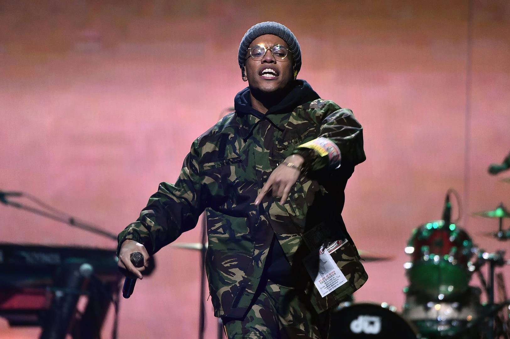 "Anderson .Paak Performs ""Anywhere"" On ""The Daily Show With Trevor Noah"""