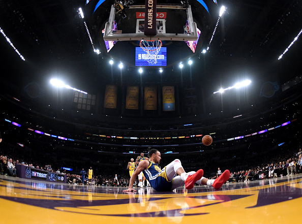 """Steph Curry On Botched Dunk Attempt: """"The Lord Wouldn't Let Me Do It"""""""
