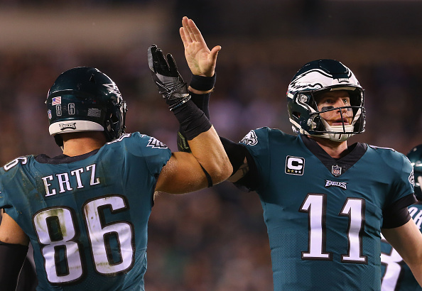 """Eagles Players React To Report That Carson Wentz Is """"Selfish and Egotistical"""""""