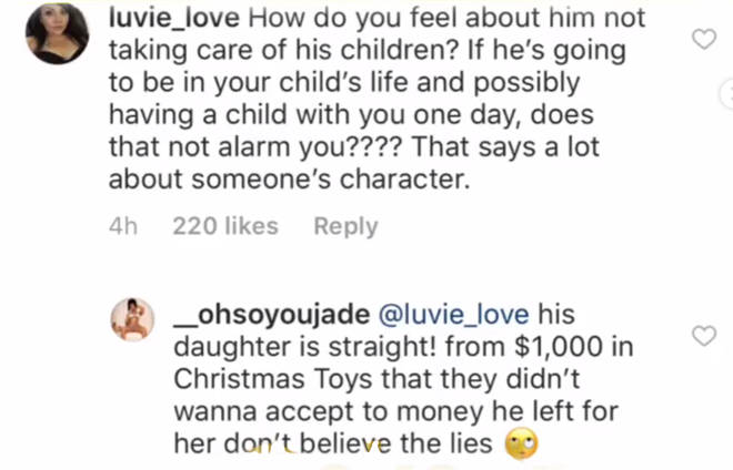 6ix9ine's Girlfriend Says He Left His Baby Mama $100K Before Going To Jail
