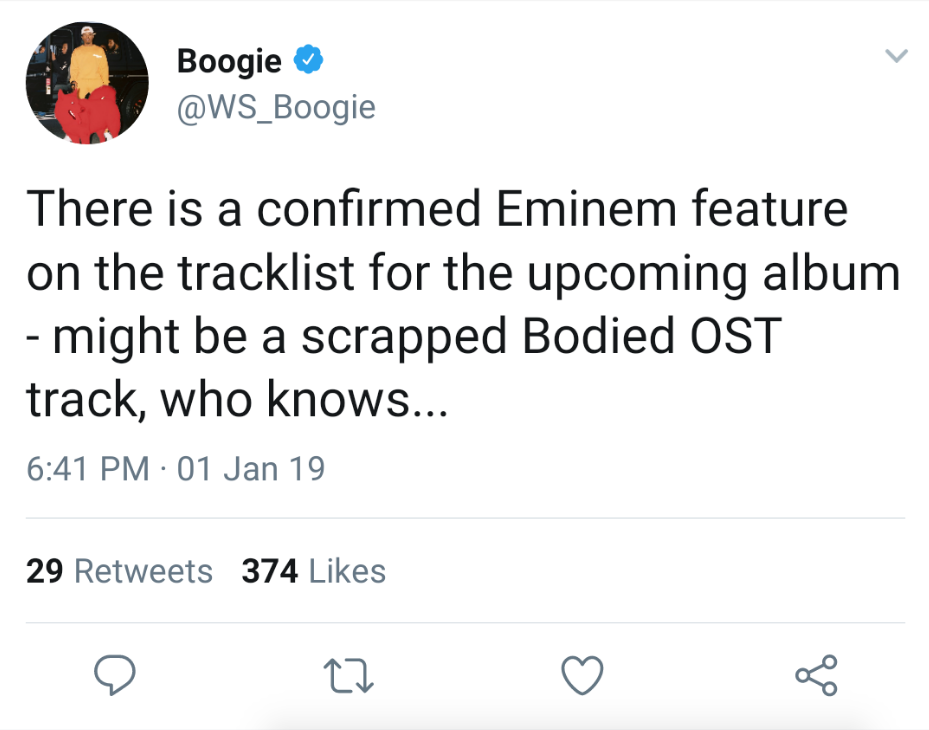 Boogie Teases Eminem Collaboration On Shady Records Debut