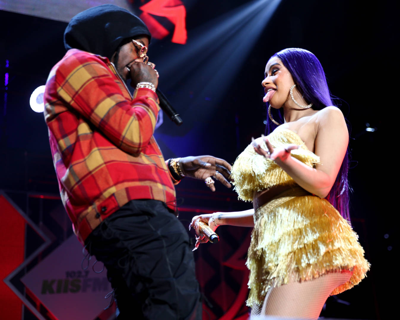 Cardi B makes minute-long court appearance during frigid cold