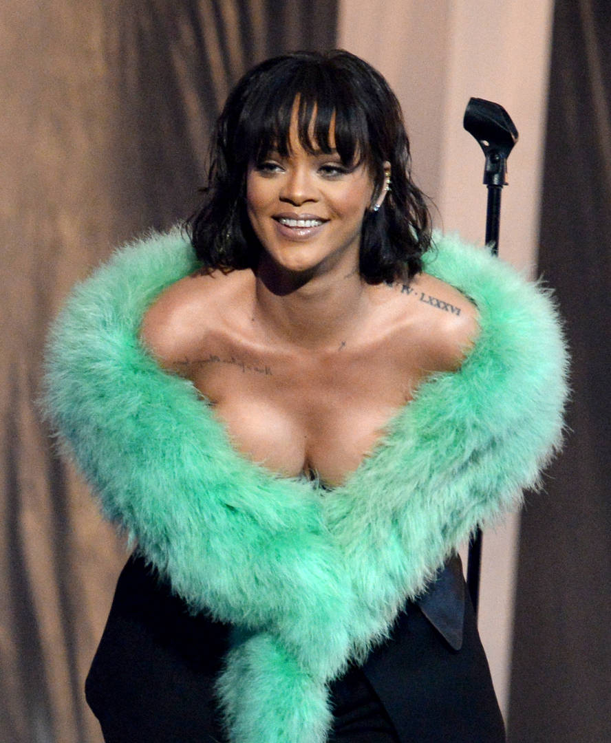 Rihanna Renews Lingerie Photo Spree As She Prepares For Valentine's Day