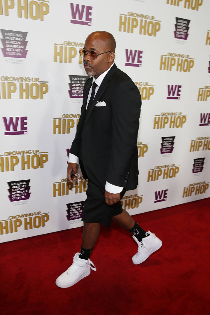 "Dame Dash ""Storms Off"" Red Carpet After R. Kelly & Aaliyah Question"
