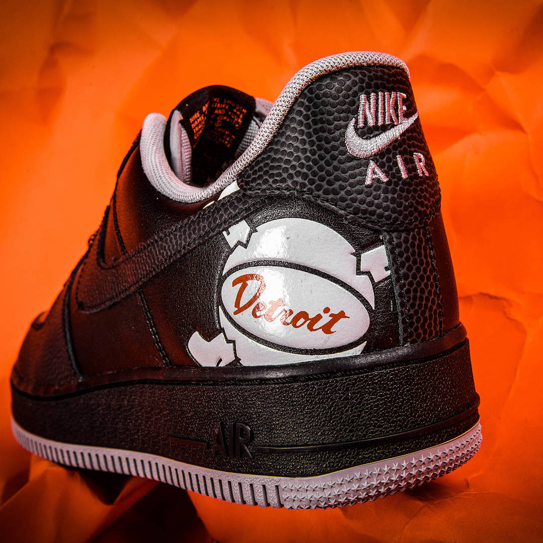 "Foot Locker x Nike Unveil Detroit-Inspired ""Home & Away"" Air Force 1s"