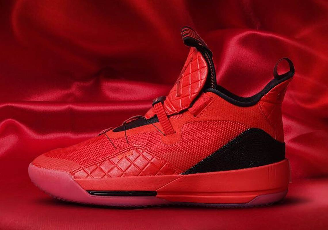 e6a1e28f784 (Image Via Hoops Station). The Air Jordan 33 is the brand's first  basketball shoe to feature Nike's FastFit technology ...