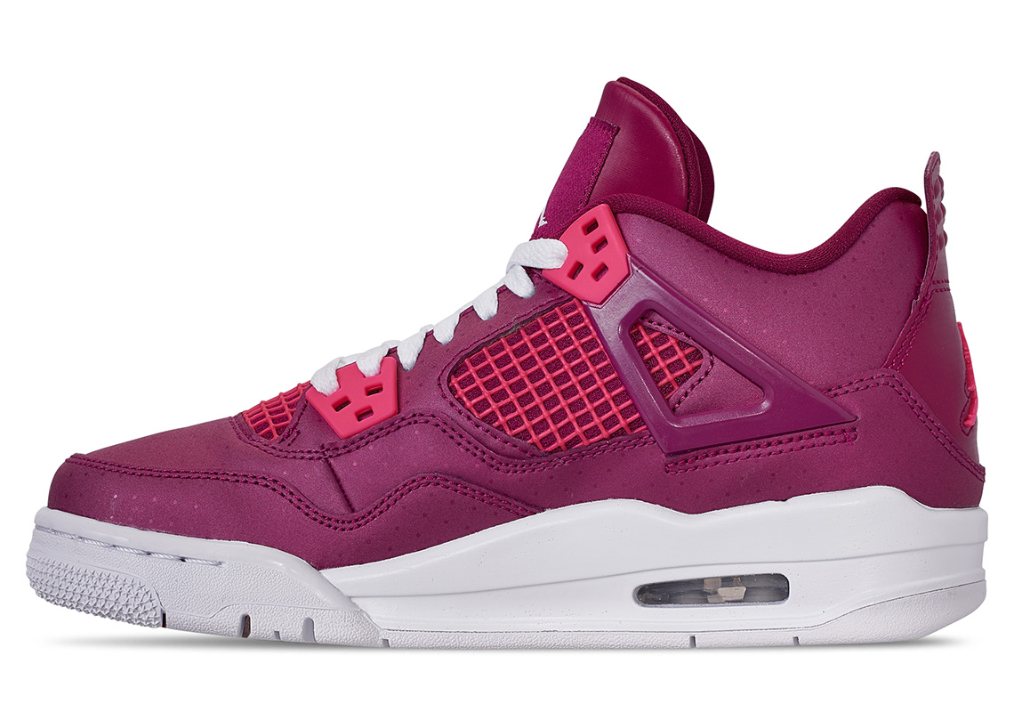 afdaa7c7f3dd0c Check out some additional photos of the Valentine s Day pair below and stay  tuned for more details. Sneakers Lifestyle News air jordans Air Jordan 4 ...