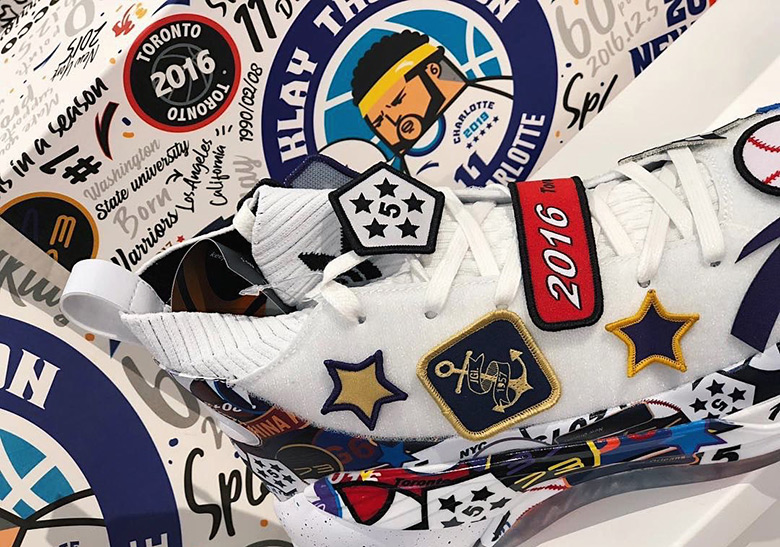 """Klay Thompson's Anta KT4 """"All Star"""" Sneakers Unveiled"""
