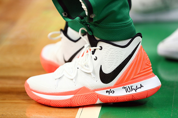 "Kyrie Irving And Tennis Star Nick Kyrgios Unveil Nike Vapor X ""Kyrie 5"""