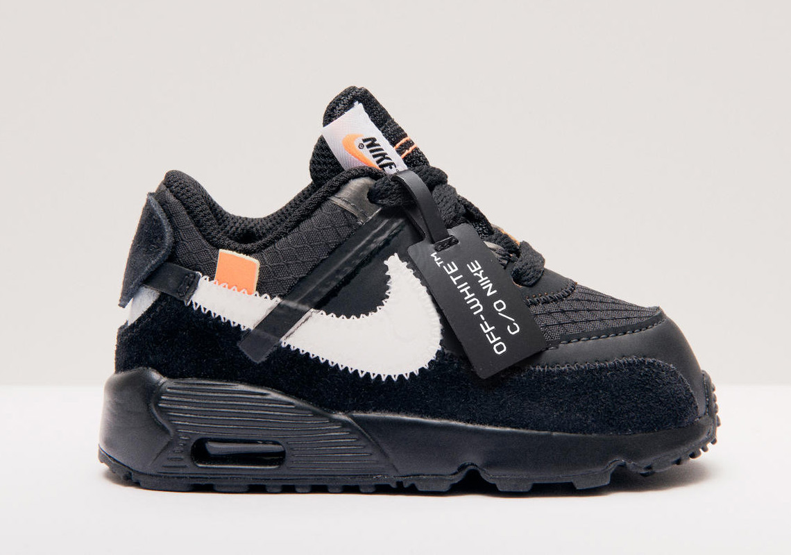 OFF WHITE x Nike Air Max 90 Black Releasing Next Week