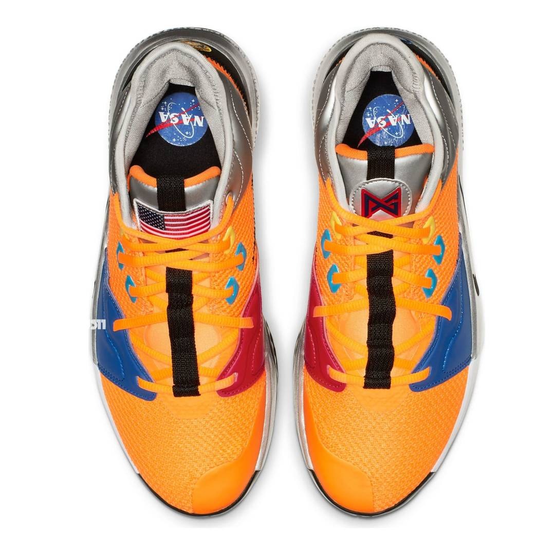 "Paul George's Nike PG3 Sneaker Revealed In ""NASA"" Colorway"