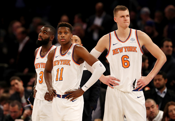 Teams starting to dream of Kristaps Porzingis slipping away from Knicks