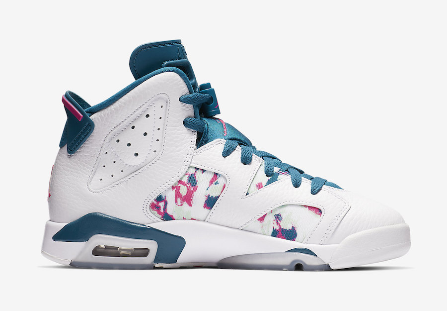 """Air Jordan 6 """"Green Abyss"""" Debuts This Weekend: Official s"""