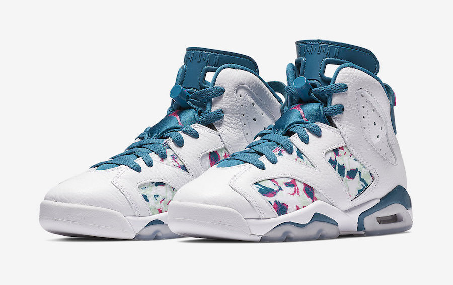 """the latest 0f875 b5c31 Air Jordan 6 """"Green Abyss"""" Debuts This Weekend  Official Images"""