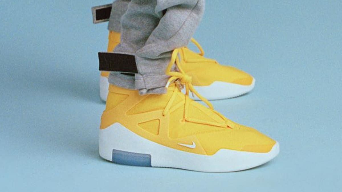 Yellow Air Release Of God To Fear Colorway In Nike Rumored PuikXZ