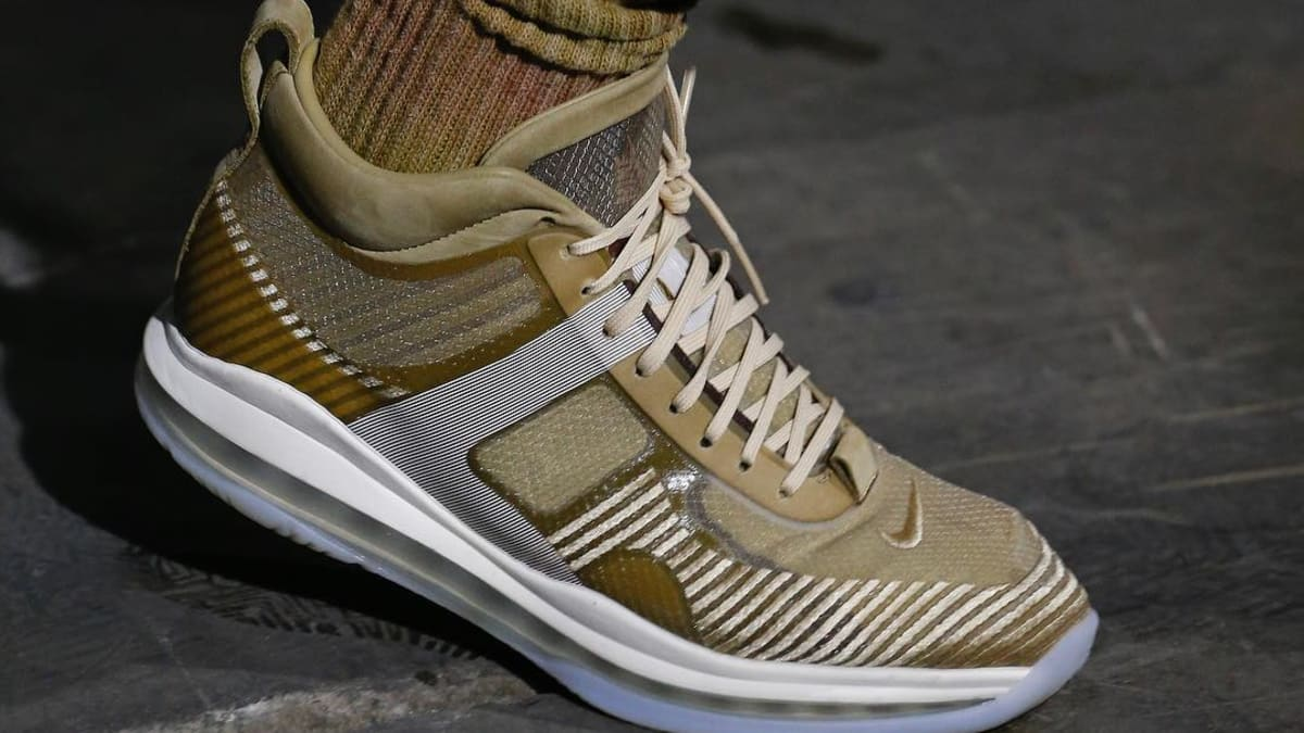 new concept ac969 49c07 John Elliott x Nike LeBron Icon Unveiled In New Gold Colorway