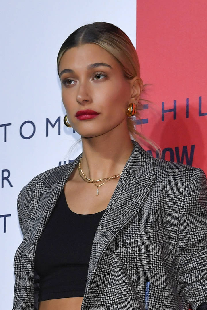 Hailey Baldwin Pressed About Fyre Festival On James Corden's Show