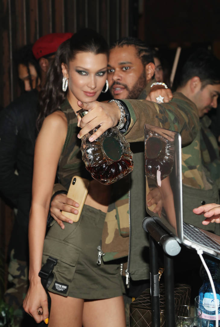 The Weeknd Tries Out Cornrows In New Photos With Bella Hadid