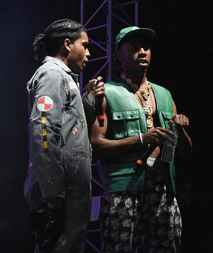 Tyler, The Creator Brings A$AP Rocky Out During Ill Points Festival Performance