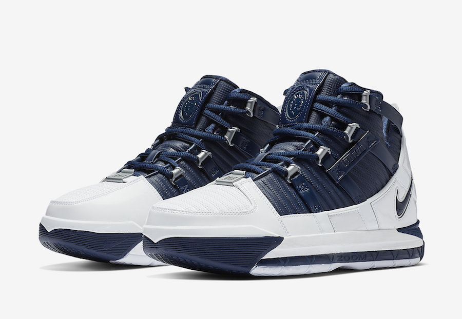 "Nike LeBron 3 ""Midnight Navy"" Releasing Today: Purchase Links"