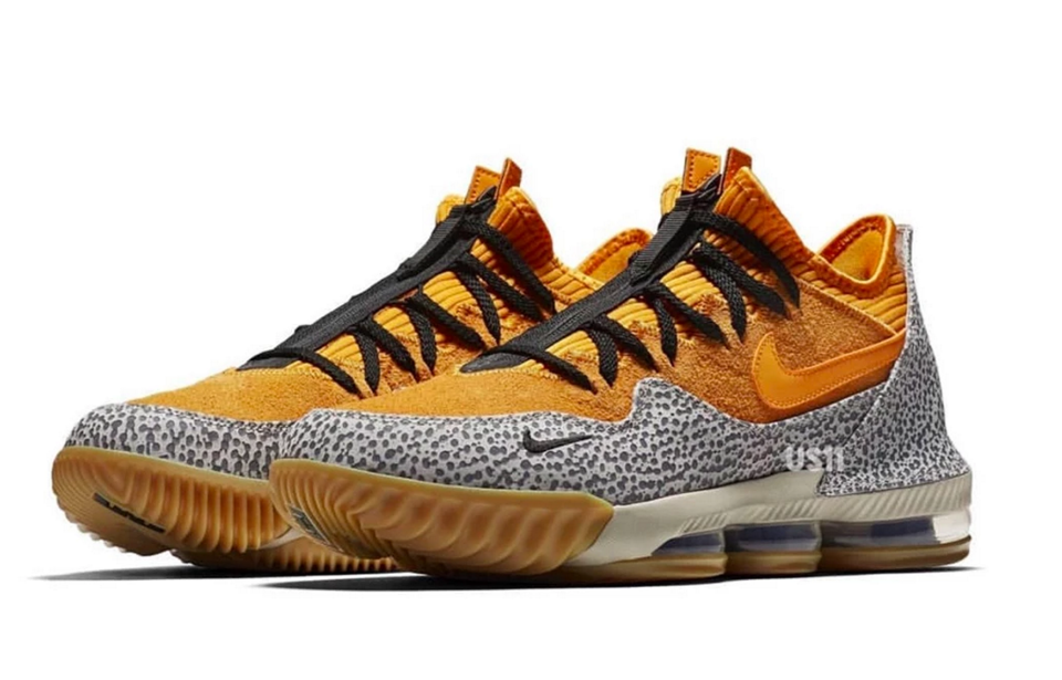 "Nike LeBron 16 Low ""Safari"" Surfaces: First Look"
