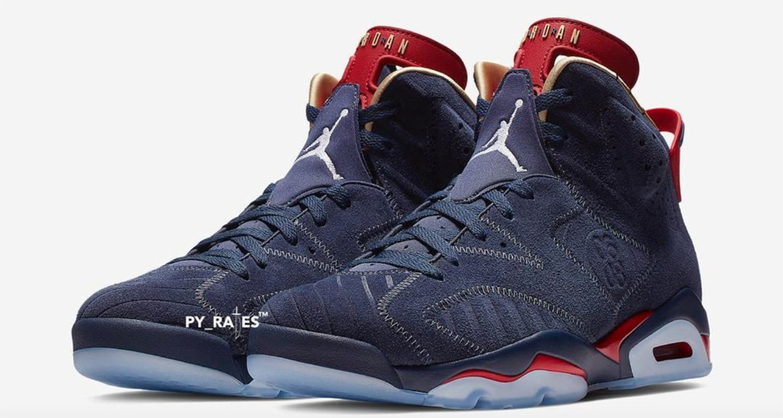 "best service 565e4 81893 Air Jordan 6 ""Doernbecher"" Returns This Year: New Images"