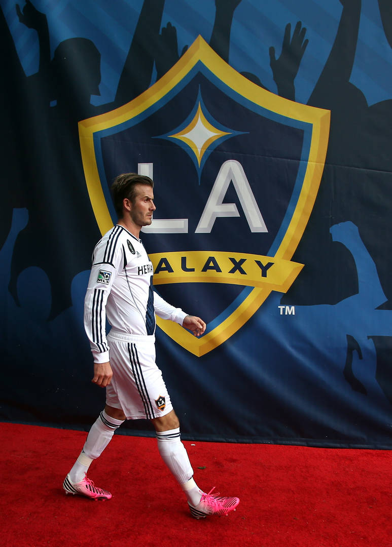 David Beckham Will Be Honored By LA Galaxy With A Statue